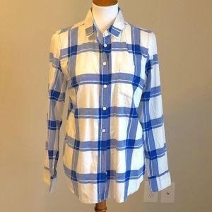 J crew boy fit button up shirt